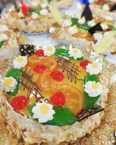 Mona de Pasqua de fruita